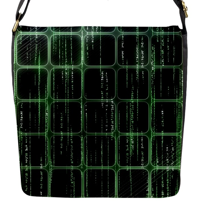 Matrix Earth Global International Flap Messenger Bag (S)