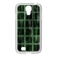 Matrix Earth Global International Samsung Galaxy S4 I9500/ I9505 Case (white)