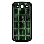 Matrix Earth Global International Samsung Galaxy S3 Back Case (Black) Front