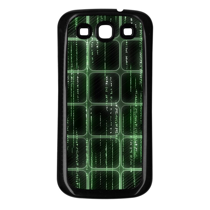 Matrix Earth Global International Samsung Galaxy S3 Back Case (Black)