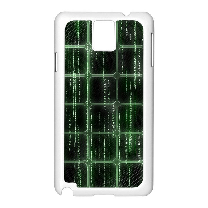 Matrix Earth Global International Samsung Galaxy Note 3 N9005 Case (White)