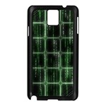Matrix Earth Global International Samsung Galaxy Note 3 N9005 Case (Black) Front