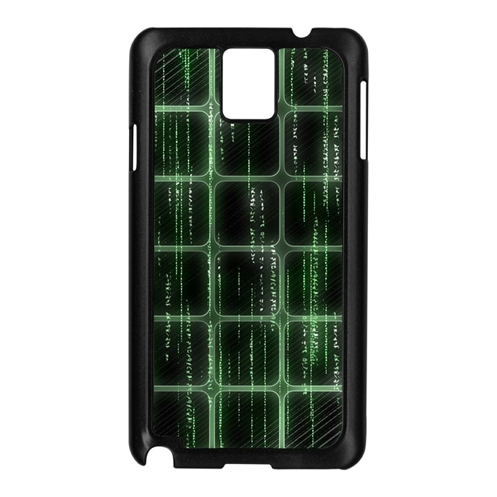 Matrix Earth Global International Samsung Galaxy Note 3 N9005 Case (Black)