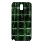 Matrix Earth Global International Samsung Galaxy Note 3 N9005 Hardshell Back Case Front
