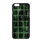 Matrix Earth Global International Apple iPhone 6/6S Black Enamel Case Front