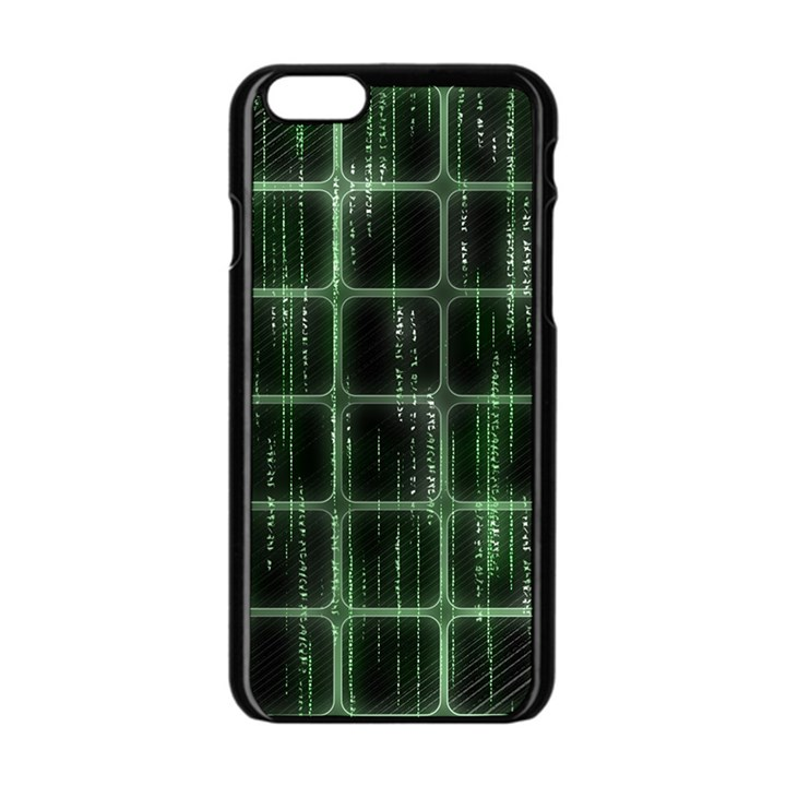 Matrix Earth Global International Apple iPhone 6/6S Black Enamel Case