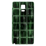 Matrix Earth Global International Galaxy Note 4 Back Case Front