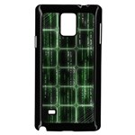 Matrix Earth Global International Samsung Galaxy Note 4 Case (Black) Front