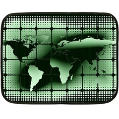 Matrix Earth Global International Double Sided Fleece Blanket (mini)