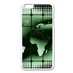 Matrix Earth Global International Apple Iphone 6 Plus/6s Plus Enamel White Case