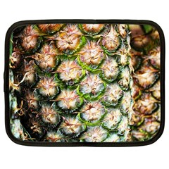 Pineapple Texture Macro Pattern Netbook Case (large)