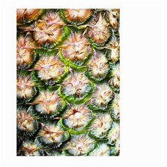 Pineapple Texture Macro Pattern Large Garden Flag (two Sides)