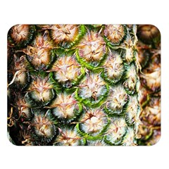 Pineapple Texture Macro Pattern Double Sided Flano Blanket (large)