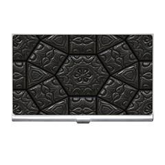Tile Emboss Luxury Artwork Depth Business Card Holders