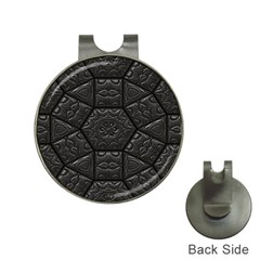 Tile Emboss Luxury Artwork Depth Hat Clips With Golf Markers