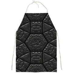 Tile Emboss Luxury Artwork Depth Full Print Aprons
