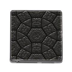 Tile Emboss Luxury Artwork Depth Memory Card Reader (square)