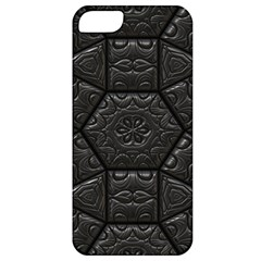 Tile Emboss Luxury Artwork Depth Apple Iphone 5 Classic Hardshell Case