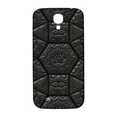Tile Emboss Luxury Artwork Depth Samsung Galaxy S4 I9500/i9505  Hardshell Back Case