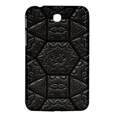 Tile Emboss Luxury Artwork Depth Samsung Galaxy Tab 3 (7 ) P3200 Hardshell Case