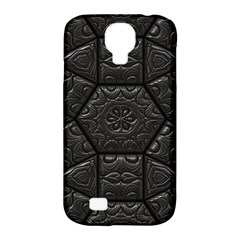 Tile Emboss Luxury Artwork Depth Samsung Galaxy S4 Classic Hardshell Case (pc+silicone)
