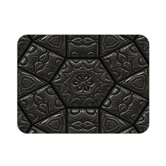 Tile Emboss Luxury Artwork Depth Double Sided Flano Blanket (mini)