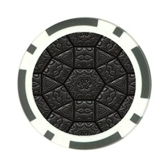 Tile Emboss Luxury Artwork Depth Poker Chip Card Guard (10 Pack)