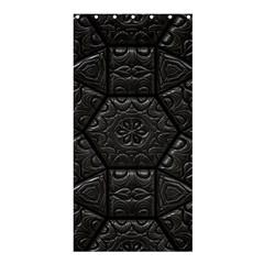 Tile Emboss Luxury Artwork Depth Shower Curtain 36  X 72  (stall)