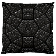 Tile Emboss Luxury Artwork Depth Large Cushion Case (one Side)