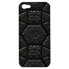 Tile Emboss Luxury Artwork Depth Apple Iphone 5 Hardshell Case
