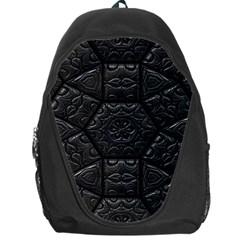 Tile Emboss Luxury Artwork Depth Backpack Bag