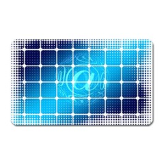 Tile Square Mail Email E Mail At Magnet (rectangular)