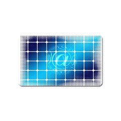 Tile Square Mail Email E Mail At Magnet (name Card)