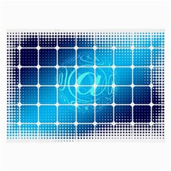 Tile Square Mail Email E Mail At Large Glasses Cloth (2 Side)