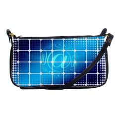 Tile Square Mail Email E Mail At Shoulder Clutch Bags