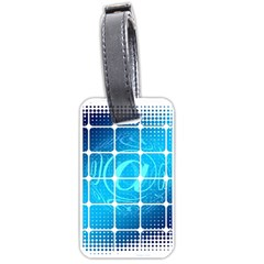 Tile Square Mail Email E Mail At Luggage Tags (two Sides)
