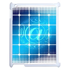 Tile Square Mail Email E Mail At Apple Ipad 2 Case (white)
