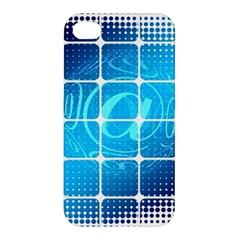 Tile Square Mail Email E Mail At Apple Iphone 4/4s Hardshell Case