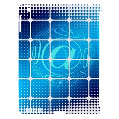 Tile Square Mail Email E Mail At Apple Ipad 3/4 Hardshell Case (compatible With Smart Cover)