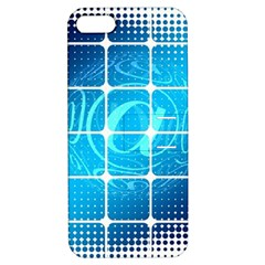 Tile Square Mail Email E Mail At Apple Iphone 5 Hardshell Case With Stand