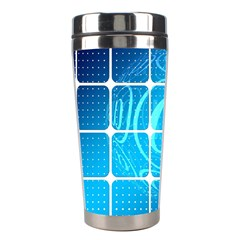 Tile Square Mail Email E Mail At Stainless Steel Travel Tumblers