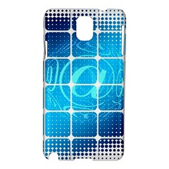 Tile Square Mail Email E Mail At Samsung Galaxy Note 3 N9005 Hardshell Case
