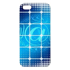 Tile Square Mail Email E Mail At Iphone 5s/ Se Premium Hardshell Case