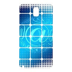 Tile Square Mail Email E Mail At Samsung Galaxy Note 3 N9005 Hardshell Back Case
