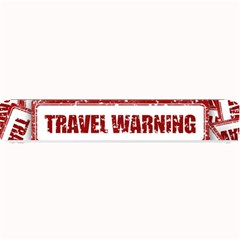 Travel Warning Shield Stamp Small Bar Mats