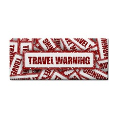 Travel Warning Shield Stamp Cosmetic Storage Cases