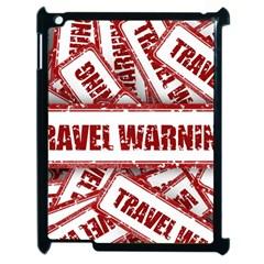 Travel Warning Shield Stamp Apple Ipad 2 Case (black)