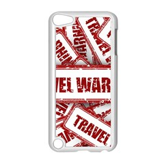 Travel Warning Shield Stamp Apple Ipod Touch 5 Case (white)