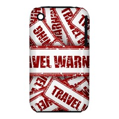 Travel Warning Shield Stamp Iphone 3s/3gs