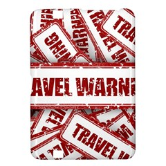 Travel Warning Shield Stamp Kindle Fire Hd 8 9